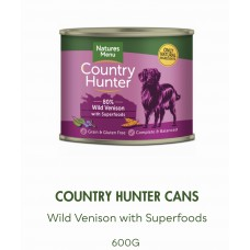 Country hunter  dog cans